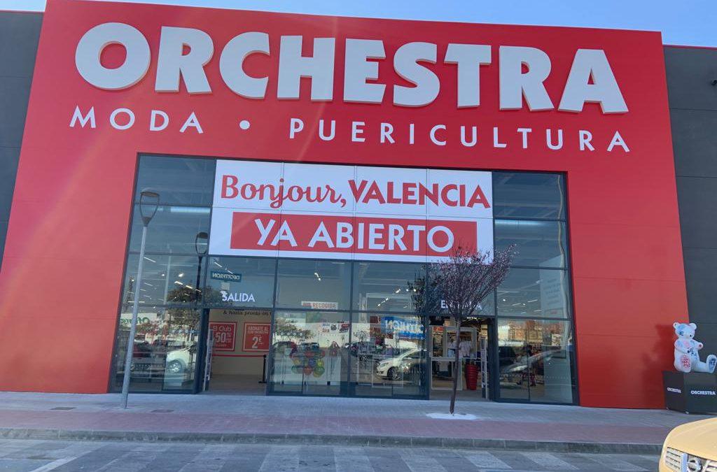 Orchestra, la tienda más grande de puericultura y ropa infantil de la Comunidad Valenciana abre sus puertas en Alfafar Parc